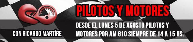 Pilotos y Motores en Radio República AM 670